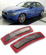 For 13-15 BMW F30 F31 3-Series M SPORT Bumper Reflector Smoke Side Marker Lights