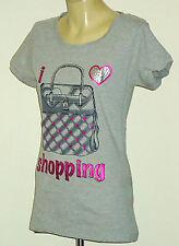 CLOSERwithEVIE ShoppingPrintMetallicHotPinkTrim Sz1012 NWoT