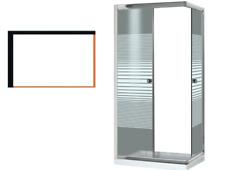 Box doccia CORMORANO 70X90X185 cm cabina docce scorrevole vetro due lati bagno