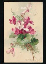 Artist C KLEIN Flowers 1905 u/b PPC