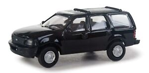 Walthers HO Scale Ford Expedition Special Service (SSV) Unmarked Unit (Black)
