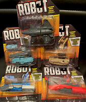 Robot Transforming Vehicles 🔥Complete Collection Of 5 Free Shipping US Seller