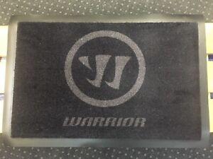 Pro Return KHL Stock Warrior Hockey Skate Mat Rug Carpet