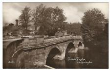 Vintage RP Postcard - Victoria Bridge, Leamington Spa - Harvey Barton Bristol