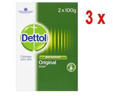 """24,92€/kg - 3x DETTOL antibakterielle Hygiene-Seife """"ORIGINAL""""- Duopack 2 x 100g"""