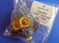 Hallmark PIN Halloween Vintage OWL Big Eyes Holiday Brooch NEW