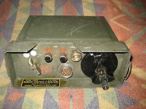 Vietnam War C-433/GRC Remote Control US Army GI Field Phone Telephone Radio