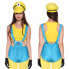 Disfraz de Minions Despicable Me para Carnaval Halloween Ladies Little Yellow