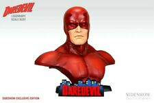 SIDESHOW EXCLUSIVE DAREDEVIL LEGENDARY SCALE BUST LOW SERIAL #004 MARVEL EX 1:2