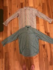 LOT OF 2 RALPH LAUREN BUTTON DOWN SHIRTS SIZE SMALL, USED GREAT CONDITION!!