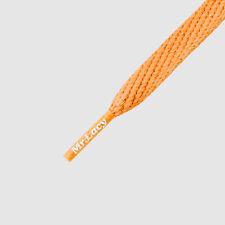 Laces Flat Bright Orange Mr Lacy Smallies,High quality Shoelaces 90cm