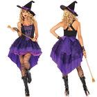 femme adulte filles diable Halloween Sorcière déguisement costume ensemble