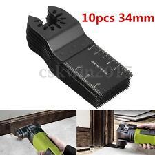 10pcs 34mm Oscillating Multi Tool Saw Blade for DeWalt Porter Cable Black&Decker