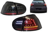Voll Full LED Rückleuchten VW Golf V 5 Urban Style Schwarz Heckleuchten E-Mark