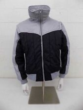Vintage Polar Bear Fully Insulated Gray & Black Jacket/Vest Men's Large GREAT