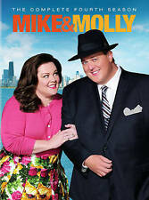 Mike & Molly - Complete 4th Season (DVD, 2014, 3-Disc Set) Melissa McCarthy NEW!