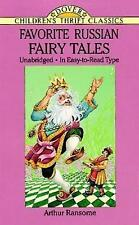 Favorite Russian Fairy Tales by Arthur Ransome (Paperback, 1995)