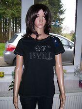 Ralph Lauren Logo Tee Shirt leichtes T Shirt schwarz Grösse L neu edel