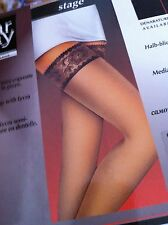•NEW Kolotex Women's Stockings One Size Fits Most Lace STAY UPS No Belt Required