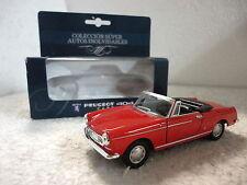 Super Autos Inolvidables,Peugeot 404 Cabriolet,Escala 1:36:38,Ed.Sol 90