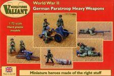 Valiant Miniatures 1/72 paracaidistas & alemana segunda guerra mundial armas pesadas # 010