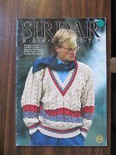 SIRDAR Men's jumpers & cardigan Knitting pattern book no.559