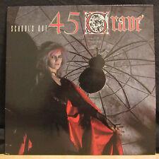 """45 Grave – School's Out   12"""" EP 1984   Enigma Records – E-1039"""