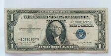 BANKNOTE $ 1 US- DOLLAR SERIES 1935G *** STARNOTE*** BLUE SEAL (( F ))