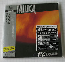 Metallica-Reload Japon SHM MINI LP CD Nouveau! UICY - 94668