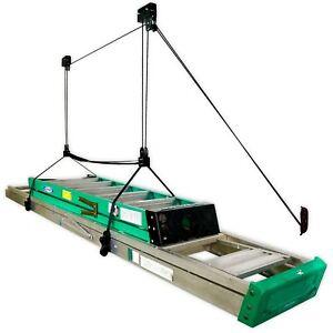 Ladder Ceiling Storage Hoist | Hi-Lift Home & Garage Pulley| StoreYourBoard(PRO)