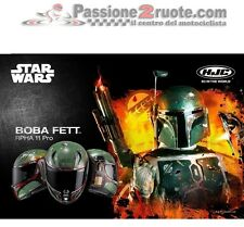 Casco integral moto Hjc Rpha 11 Boba fett Star Wars Talla L con visera humo