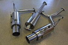 "Honda S2K S2000 AP1 AP2 00-09 Performance Stainless Catback Exhaust System 2.5"""