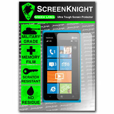 ScreenKnight Nokia Lumia 800 FRONT SCREEN PROTECTOR invisible Military shield