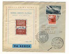 15651- 37° Arm. 1° gara Aviatoria di Brescia 1910, Via aerea, 1947
