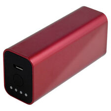 Powerocks 3000mah Red Travel PACCO BATTERIA PORTATILE POWER BANK Galaxy s6 s6 Edge
