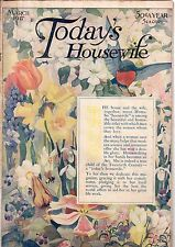 1917 Today's Housewife March - Cream of Wheat; Buying a second-hand car; Fish