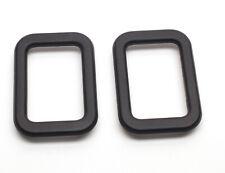 BMW E23 E24 E28 E30 Interior Door Handle Trim BLACK 51211876043 Qty:2 OEM