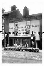 pu0029 -  Queens Arms Pub , St Sepulchre Gate , Doncaster , Yks - photograph