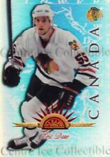 1997-98 Leaf International Universal Ice #97 Eric Daze