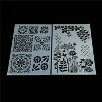 flower layering stencils for walls painting scrapbooking stamp album de Kn