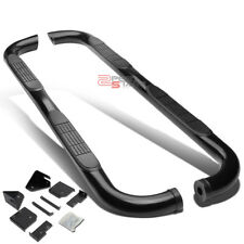 """FOR 98-11 FORD RANGER EXT CAB 3""""BLACK ROUND SIDE ASSIST STEP BAR RUNNING BOARD"""