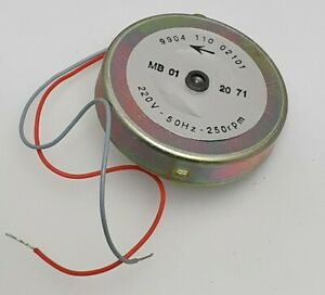 250 rpm CLOCKWISE SYNCHRONOUS MOTOR 220V