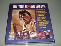 COFFRET 5X CD BOX SET ON THE ROAD AGAIN COLLECTOR RARE 1993 NEUF SOUS BLISTER