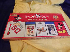 Mickey Mouse 75th Anniversary Monopoly game Collectors Edition