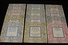 "12 Pc Lot Vintage Musical Masterpiece Society MMS LP Vinyl Records 10"" 33 RPM"