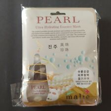 Pack of 10 OBS Lab K-Beauty Pearl Ultra Hydrating Essence Mask