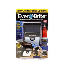 Solar Power Ever Brite Outdoor Motion Activated LED Light Stick Up As Seen On TV