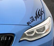 The Blue Beast Auto Aufkleber Limited Edition Sticker Tuning Motorsport JDM