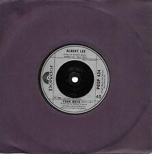 """Albert Lee Radio Girl UK 45 7"""" single +Your Boys"""