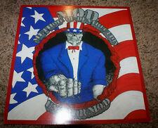 MOD METHOD OF DESTRUCTION USA FOR MOD 1987 VINTAGE CARDBOARD RECORD STORE FLATAD
